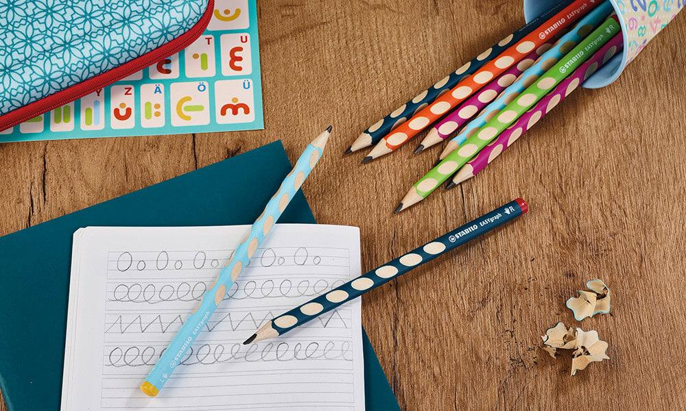 Colored Graphite Pencils