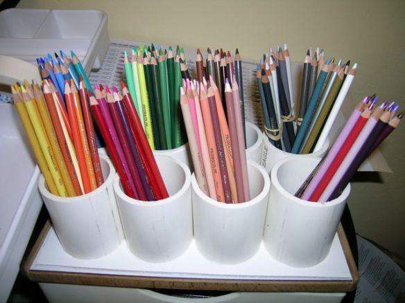 How To Organize Prismacolor Colored Pencils?