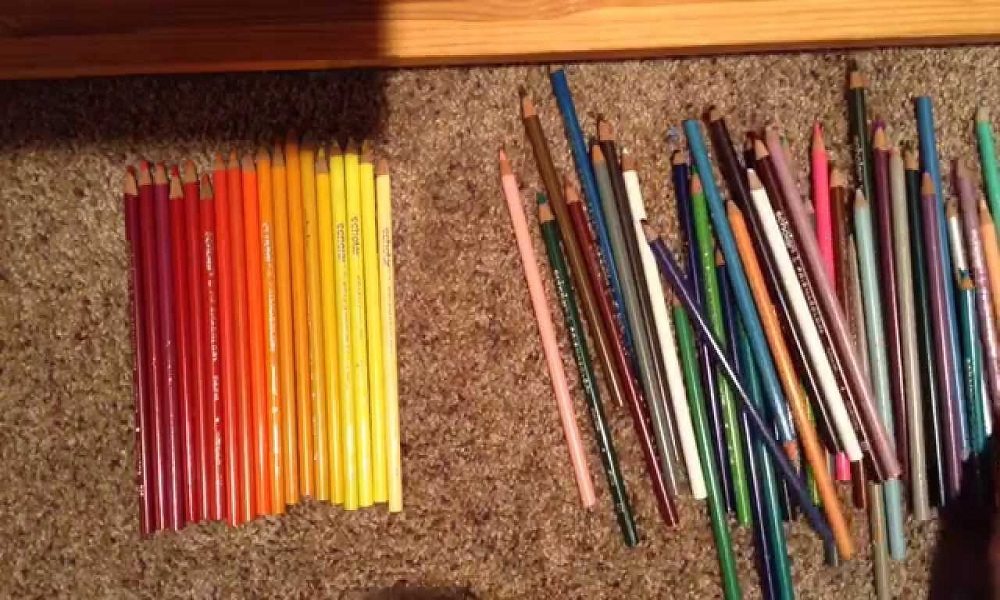 Organize Prismacolor Colored Pencils